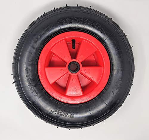 BITS4REASONS - Rodamiento de rueda de 25 mm, 35 mm, opción para quitar el rodamiento) 4.80/4.00-8 Neumático resistente para remolque de barco multiusos, 38 mm OD