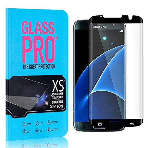 GIMTON Verre Trempé pour Galaxy S7 Edge, 0.26mm HD Protection en Verre Trempé Écran pour Samsung Galaxy S7 Edge, Anti Rayures, sans Traces de Doigts, 4 Pièces