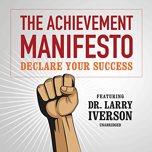 The Achievement Manifesto audiobook cover art