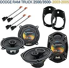 Compatible with Dodge Ram Truck 2500/3500 2003-2005 OEM Speaker Upgrade Harmony Speakers New