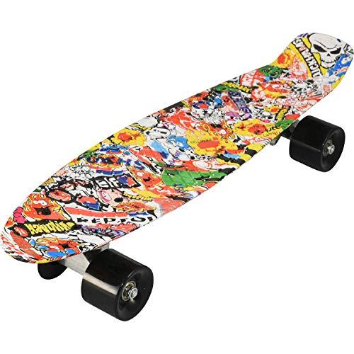 """BAX Skateboard Road 22"""" (Candy Board), Pennyboard, Kinderskateboard"""