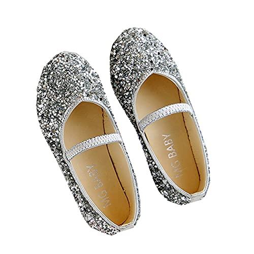 Bailarinas de Ballet para niñas Ligeras Antideslizantes con Purpurina Lentejuelas Zapatos de...