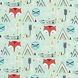 Fabulous Fabrics Cretonne Baumwollstoff be wild in Summer