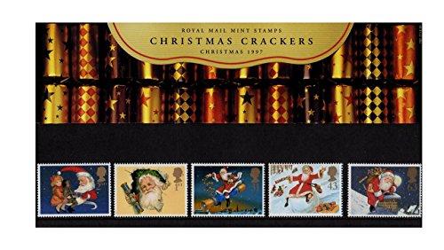 Paquete de Presentación de Estampillas del Correo Real No. 282 - 1997 Christmas Cracker