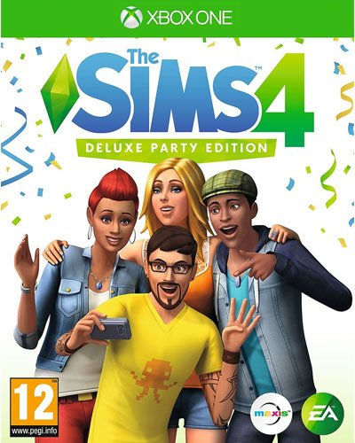 Sims 4 XB-One Deluxe Party Edition AT incl. Sonnenterassen Accessoires [Import allemand]