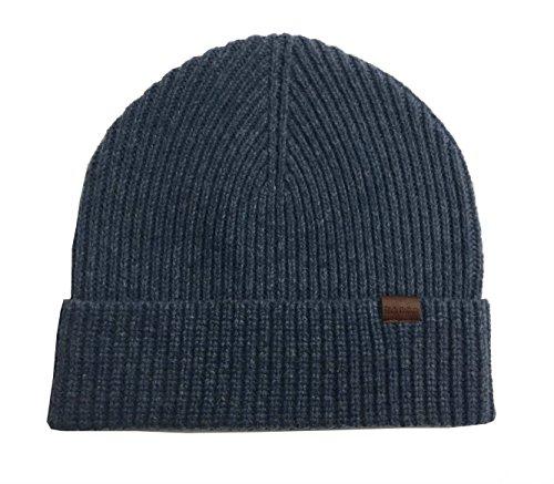 Rich Cotton Wool Beanie (Oxford Blue)