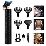 Tagliacapelli elettrico Pro Li Outliner Grooming Ricaricabile Cordless Chiudere Taglio T-Blade Trimmer per Uomo Dettaglio Barba
