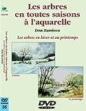 Les arbres en toutes saisons à l'aquarelle : Hiver - Printemps