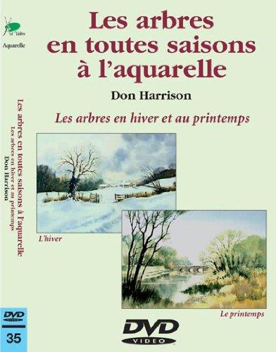 Les arbres en toutes saisons à l'aquarelle : Hiver - Printemps - Cours de peinture en DVD