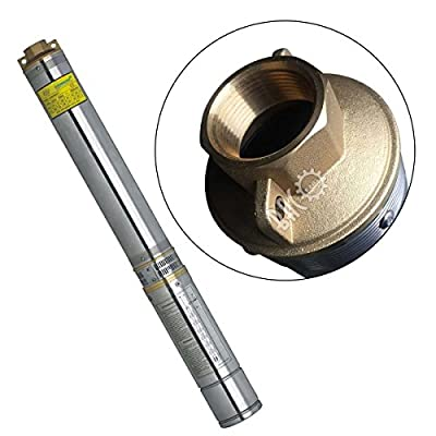 """BACOENG 4"""" Submersible Deep Well Pump 110v Stainless Steel 0.5HP-2HP"""