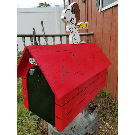 Snoopy Flying Ace Mailbox. MAILBOX INCLUDED