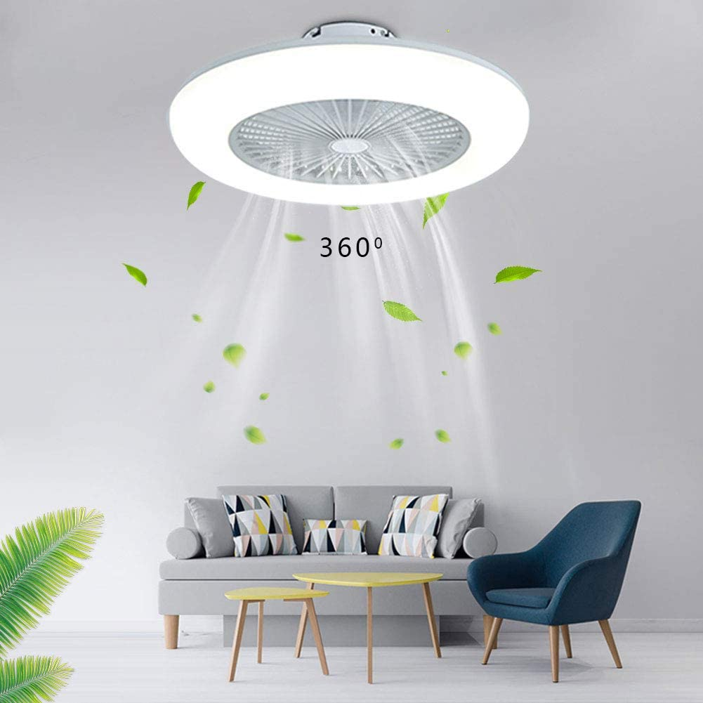 23'' Ceiling Austin Mall Fan 5 ☆ popular with Lighting W dimmable LED 36