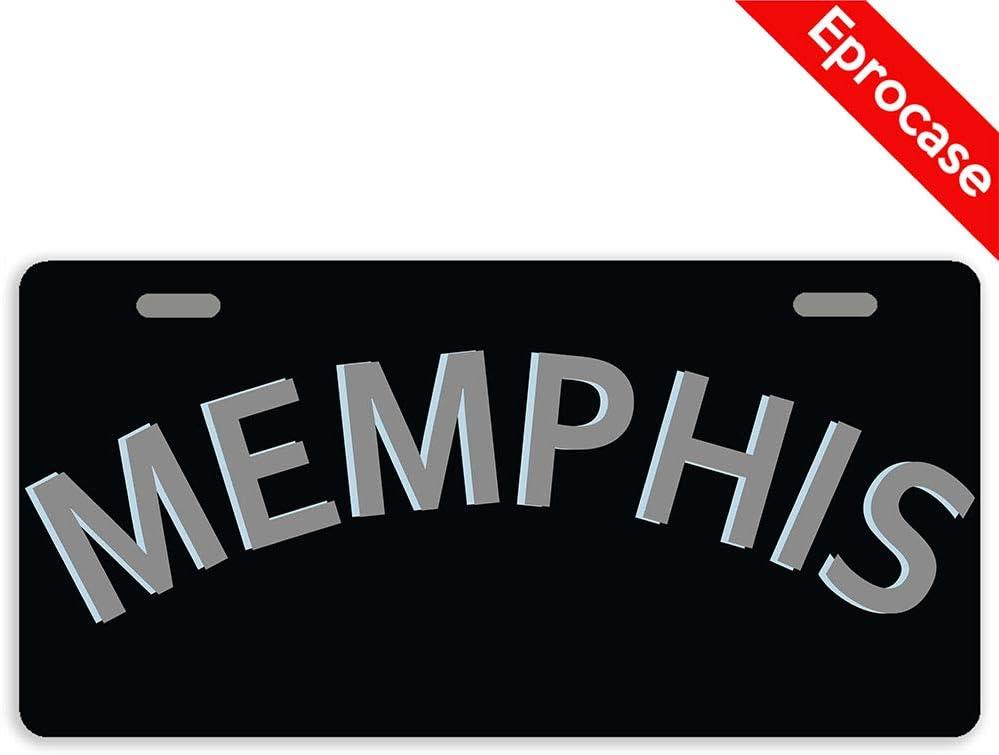 Eprocase Superlatite License Omaha Mall Plate Memphis Decorative Ca Cover