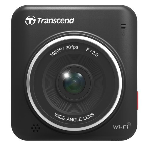 Transcend DrivePro 200 - Videocámara HD para Coche (Micro SD 16 GB, CMOS, Video 1080p) Negro