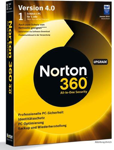 Norton 360 4.0 1 PC Update [import anglais]
