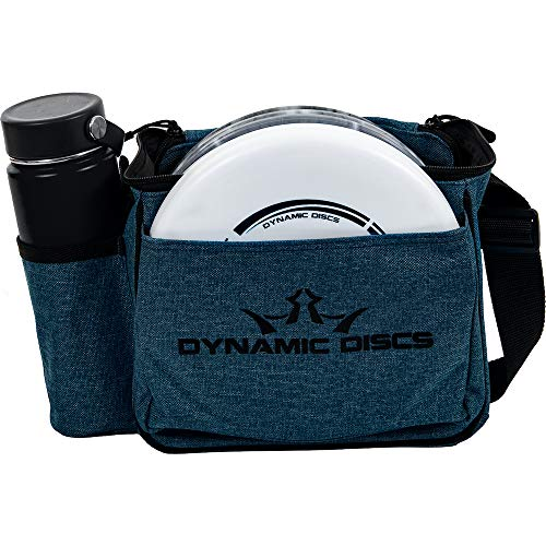 Dynamic Discs Cadet Disc Golf Bag   Introductory Disc Golf Bag   Great for Beginners and Casual Disc Golf Rounds   Lightweight and Durable Frisbee Golf Bag   10-12 Disc Capacity… (Midnight Blue)