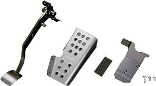 MONSTER SPORT クラッチペダル&フットレストセット:クリヤ スイフトスポーツ[ZC33S] / スイフト[ZC83S]用 849560-7650M