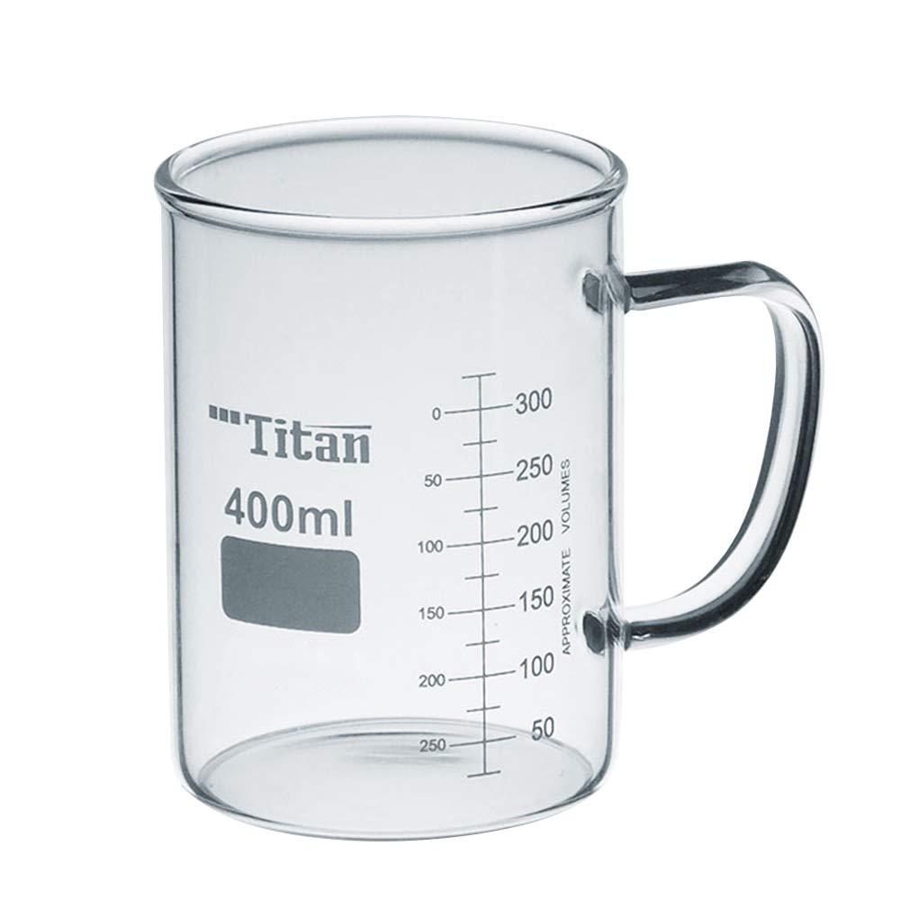 400mL Gift Mugs Popular products security Measuring Glass Graduated Beaker Borosilicate