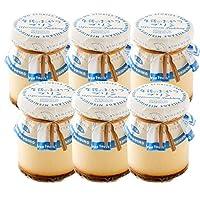 西内花月堂 森末牧場の牛乳プリン 6個セット