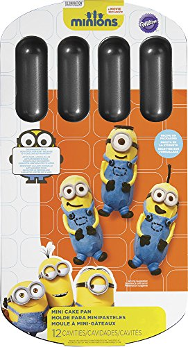 Wilton Despicable Me Minions Cake Pan, Metallic