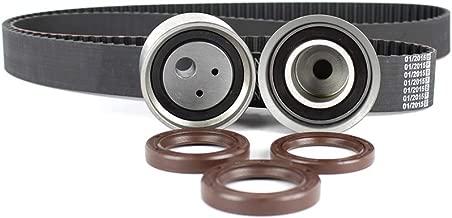 DNJ TBK133 Timing Belt Kit for 1997-2012 / Mitsubishi/Diamante, Eclipse, Endeavor, Galant, Montero, Montero Sport / 3.5L, 3.8L / SOHC / V6 / 24V / 215cid, 230cid / 6G74, 6G75 / VIN R, VIN T