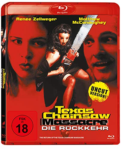 Texas Chainsaw Massacre: Die Rückkehr inkl. Uncut Version [Blu-ray]