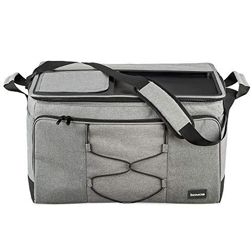 bomoe XXL Kühltasche faltbar - Große Outdoor Kühlbox - 52 Liter Tasche mit Kühlfunktion und Abstellfläche - Thermotasche 16h Kühlfunktion für unterwegs - IceBreezer KT53