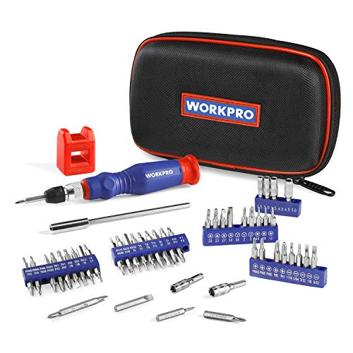 WORKPRO Precision Screwdriver Kit 69-piece with Quick Load Screwdriver Bits Holder Handle for Computer, Smartphone, iPhone, Game Console and other Electronics Devices