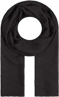Majea Tuch Lima schmal geschnittenes Damen-Halstuch leicht uni einfarbig dünn unifarben Schal weich Sommerschal Übergangsschal