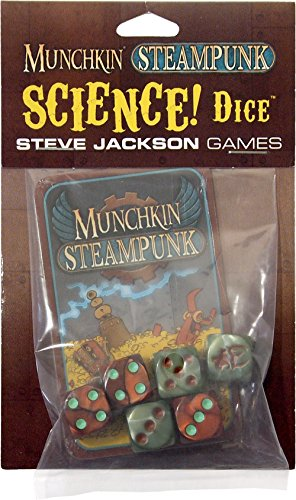 Steve Jackson Games SJG05591 - Kartenspiele, Munchkin Steampunk Science Dice