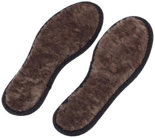 Tacco - Plantilla para zapatos unisex, color marrón, talla 39