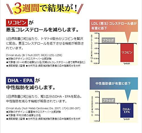 エバーライフコレステロール・中性脂肪90粒(約1ヶ月分)機能性表示食品