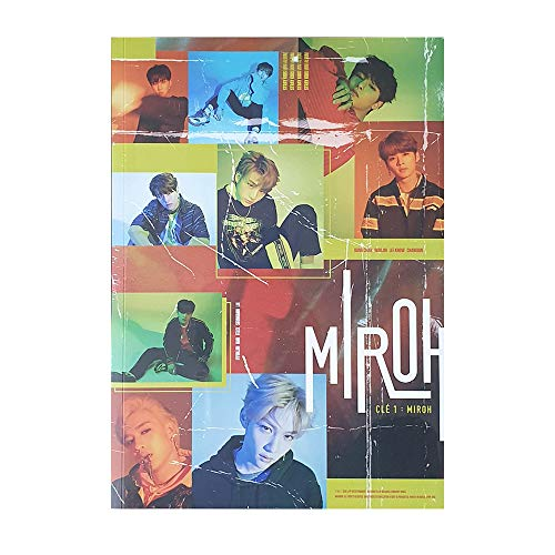STRAY KIDS 4th Mini CLE 1 : Miroh Album Standard (Miroh Version) CD+Photobook+3 QR Photocards+(Extra 4 Photocards + 1 Double-Sided Photocard)