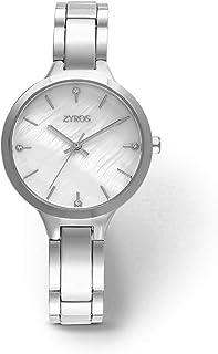 Zyros Watch for Women, Analog, Metal - ZAA093L111129