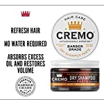 Cremo Barber Grade Dry Shampoo Paste, Refreshes Hair Without Water, 4 Oz 4