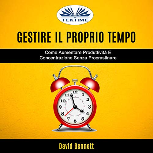 Gestire Il Proprio Tempo [Manage Your Own Time] Titelbild