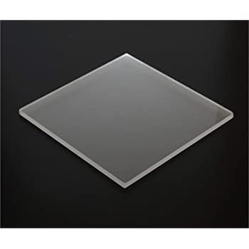 Amazon Com 1 8 0 118 Frosted Matte Acrylic Sheet 24 X12 Cast Plexiglass 3mm Thick Nominal Size Azm Industrial Scientific