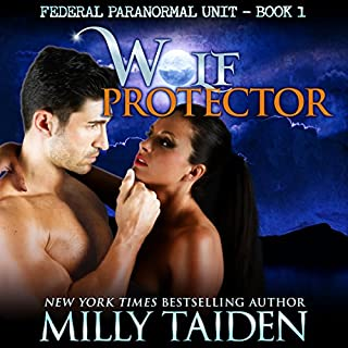 Wolf Protector (BBW Paranormal Shape Shifter Romance) audiobook cover art