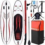 Tablas Paddle Surf,320×84×15cm Tablas De Paddle Surf Hinchable con Asiento,Paddel Surf Hinchable Adulto con Paleta Ajustable& Accesorios Completos Tabla Surf Hinchable Deportes Acuáticos De Verano