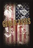 Fahne Guns N' Roses - Collage 77 x 105 cm