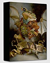 The Insatiable Mr. Toad - Treasures on Canvas - Disney Gallery Wrapped Canvas Wall Art by Heather Theurer