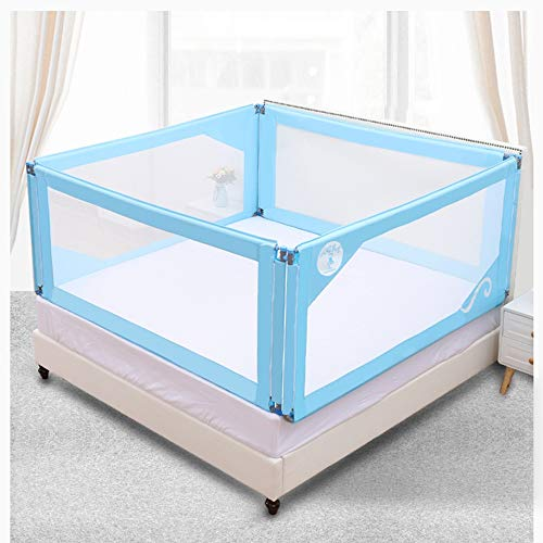 Fantastic Prices! HUO,Bed Rails Bed Fence Baby Shatterproof Fence Universal Bed Baffle 4 Faces (Colo...