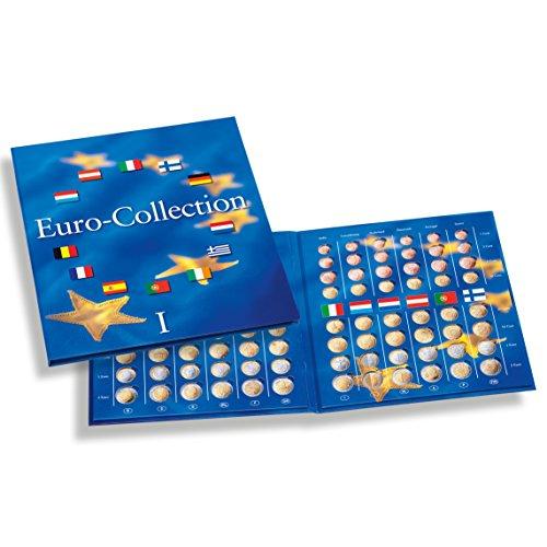 Leuchtturm 324353 Münzenalbum PRESSO Euro-Collection Band 1: Münzalbum für Kursmünzensätze der 12 Euro