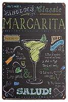 MargaritaKitchen ティンサイン ポスター ン サイン プレート ブリキ看板 ホーム バーために