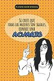 Planificador semanal ACUARIO: Agenda semanal sin fechas y sector de notas| Regalo para mujer de ACUARIO (Cuadernos de astrología para chicas)