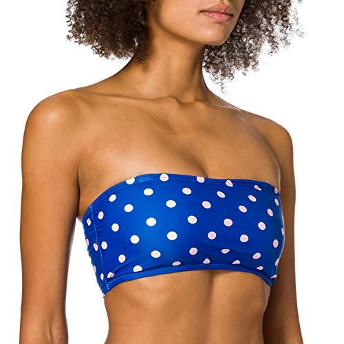 VERO MODA Damen VMDOTHEA Bandeau SWIMTOP Bikini, Nautical Blue, XL