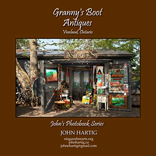Granny's Boot Antiques: John's Photobook Series (English Edition)