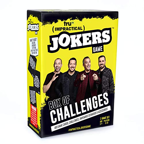 Wilder Games Impractical Jokers: The Game (Box of Challenges) $7.79 + Free Shipping w/ Prime or FS on $25+