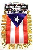 Mad can studios NYC Puerto Rico Flag Premium car Flags Edition Boricua Style Puerto Rican Flag Pride