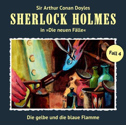 Die gelbe und die blaue Flamme audiobook cover art